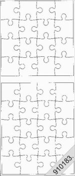 Puzzle, Peel-Off, arany