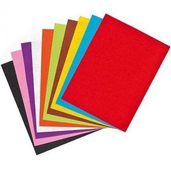 Puha konstrukciós hajtogató papír, 140g A4  8 lap/csomag