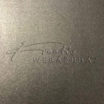 Deep Night Silver - Mélyezüst színű metál-fényű fényű MagnaMet karton papír 110gr, egyoldalas - 10 l