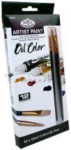 Kreatív hobby - Olajfesték készlet - 12 x 12 ml