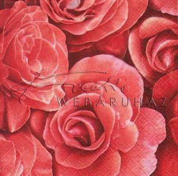 Rózsák, Szalvéta