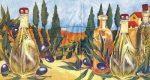 Olíva olaj, Szalvéta