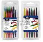 Színes tömör ceruzakészlet - Royal, 6 színű készlet
