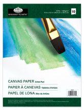 Olaj- és akriltömb - Vászonhatású művészpapír olaj- és akrilfestéshez, 23x30,5cm, 10lap, 280g