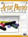 Kreatív hobby - Művészpapír - Artist Pastels 180gr tört fehér színű papír pasztellekhez