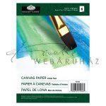 Olaj és Akril füzet, vászonhatású művészpapír olaj- és akrilfestéshez, 18x13cm, 6lap, 280g