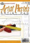 Művészpapír - Artist Pastels 180gr, 5 féle tónusú papír pasztellekhez, 18x13cm
