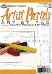 Művészpapír - Artist Pastels 150gr tört színű papír pasztellekhez, vázlatfüzet 18x13cm