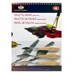 Festőkés és palettapapír A4 készlet - Royal
