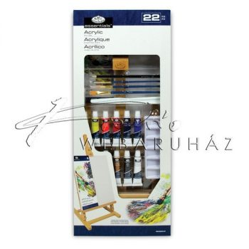 Nagy akril festőkészlet asztali festőállvánnyal - Royal Acryl 22