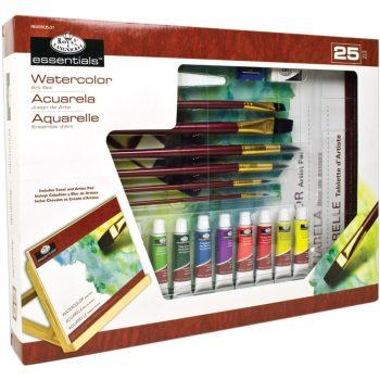 Óriás asztali akvarellkészlet dönthető A3 asztali festőállvánnyal