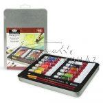 Akvarell festőkészlet - fémdobozos - Royal - 16db-os akvarell készlet