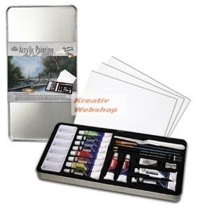 Kreatív hobby - Akril deluxe készlet - Royal 24