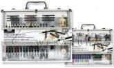 Grafikai rajzkészlet elegáns, kétoldalas fémtáskában - Royal - 61 db-os készlet, kb. 37x29x6 cm