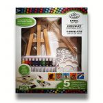 Festőállványos akril festőkészlet gyerekeknek - Royal 23 részes szett