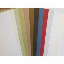 Növényi rostos karton, 220 gr - Újrahasznosított,, A4, 1 lap - Többféle színben választható Real Nat