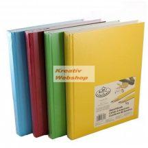 Vázlattömb - Royal SketchBook A4 - keménykötéses, színes vázlatkönyv