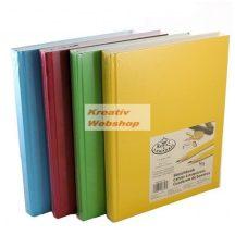 Vázlattömb - Royal SketchBook A5 - keménykötéses, színes vázlatkönyv