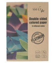 SMLT Platinum pasztell tömb mappában A4 120g