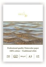 Akvarelltömb - SMLT Art Professional Watercolor 300gr, 10 lapos művésztömb A3-as méretű