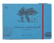 Akvarell festőtömb - SMLT Watercolor Authenticbook 280gr, 12 lapos, 17,6x24,5cm