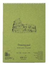 Akriltömb - SMLT Drawing Pad - Fehér, 290gr, 20 lapos A3