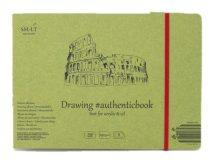 Akril festőtömb - SMLT Acrylic Authenticbook 290gr, 8 lapos, 17,6x24,5cm