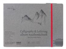 Kalligráfia tömb - SMLT Calligraphy and Lettering authenticbook - 100gr, 32 lapos, 17,6x24,5cm