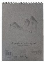 Kalligráfiatömb - SMLT Calligraphy & Lettering Pad, 100g, 50 lapos A4