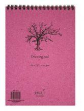 Rajztömb - SMLT Drawing Pad - Fehér, 120 gr, 60 lapos A4