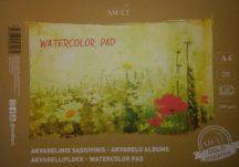 Akvarellfüzet GOLD iskolásoknak (140) A4, 200 gr, 10 lap