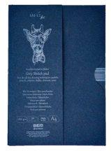 Vázlattömb - SMLT Grey Sketch authenticpad, hordozómappában - szürke, 180gr, 30 lapos A4