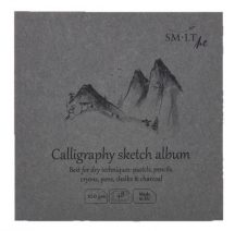 Mini album kalligráfiához - SMLT Calligraphy sketch album 100gr, 48 lapos, 14x14cm