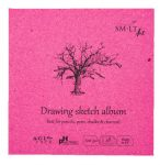 Mini skicc album - SMLT Drawing sketch album 120gr, 48 lapos, 14x14cm