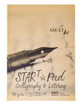 Kalligráfia tömb - SMLT Start Pad, Calligraphia & Lettering, 90gr 30 lapos A4