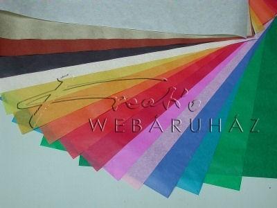 16 színű selyempapír