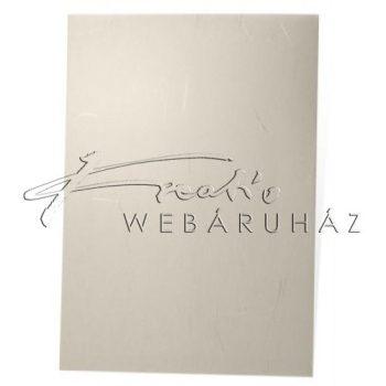 Transzparens papír - Világos sárga színű, ezüst szálakkal - 100 gr, 21x30cm - 10 lap