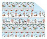 Kartonpapír - Karácsony, téli házikók és Diótörő sormintás Karton, 300 g, 1 lap