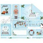 Kartonpapír, Karácsonyi, Termésekkel, A4, 1 lap
