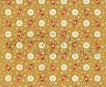 Kartonpapír - Karácsony ünnepe Mikulás kerti törpe + hópehely mintás Karton, 300g, 1 lap