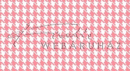 Kartonpapír - Rózsaszín-fehér, mini Pepita kocka mintás karton 29,5x20cm, 1 lap