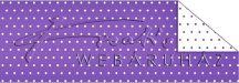Kartonpapír - Pöttyös, lila karton, 29,5x20cm, 1 lap