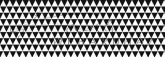 Kartonpapír - Fekete-fehér, geometrikus háromszögek mintás karton 29,5x20cm, 1 lap