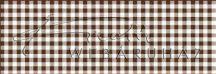 Kartonpapír - Kockás barna karton, 29,5x20cm, 1 lap