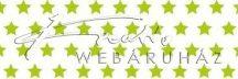 Kartonpapír - Világos/élénkzöld csillagos karton, apró csillag mintával 29,5x20cm, 1 lap