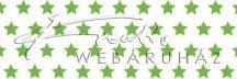 Kartonpapír - Zöld csillagos karton, apró csillag mintával 29,5x20cm, 1 lap