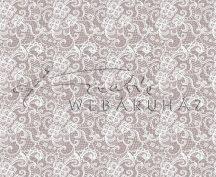 Kartonpapír - Fehér csipke mintás karton. 300g, 1 lap