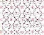 Kartonpapír - Karácsony, lila, Csengettyűs tapéta mintás Karton, 29,5x20cm, 1 lap