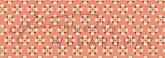 Kartonpapír - Apró geometrikus virágok, piros mintás Karton, 1 lap