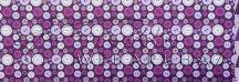 Kartonpapír - Télidő mozaik, Lilás gomb Mintás karton, 1 lap